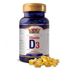 Vitamin D3 200ui (120 cápsulas) - VitGold