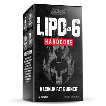 Lipo 6 Hardcore (60 caps) - Nutrex Nutrex