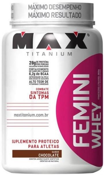 Femini Whey (900g) - Max Titanium