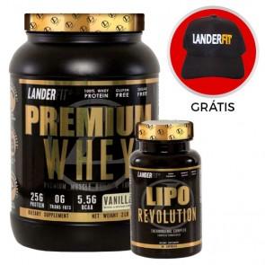 Premium Whey + Lipo Revolution - Landerfit
