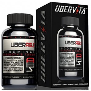 Uberabs Abdominal Muscle Toner and Thermogenic (60 cápsulas) - Ubervita