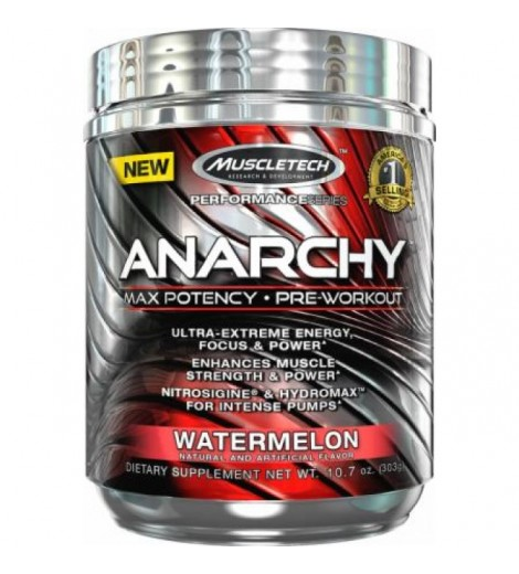 Anarchy 30 Doses, Pré-Workout - MuscleTech