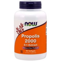 Propolis 2000 5:1 Extract (90 softgels) - Now Foods