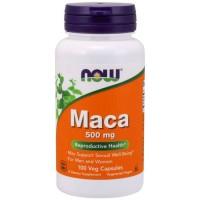 Maca 500mg (100 cápsulas) - Now Foods