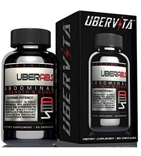 Uberabs Abdominal Muscle Toner and Thermogenic (60 cápsulas) - Ubervita