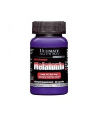 Melatonina 3 mg Ultimate Nutrition (60 cápsulas)
