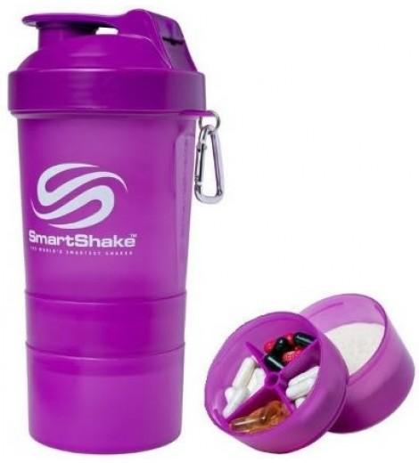Smart Shake V2 (600ml) - Neon Roxa - Smartshake