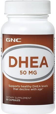 DHEA 50mg - GNC