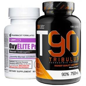 Combo: Oxyelite Pro USP Labs + T90 Tribulus