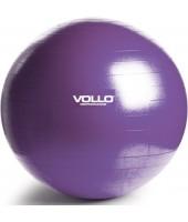 Gym Ball Tamanho 55cm Roxa com Resistência de 350kg e Bomba - Vollo
