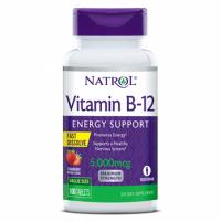 Vitamina B-12 5000mcg F/D 100 tabs