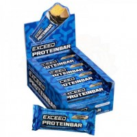 Exceed Protein Bar - Display com 12
