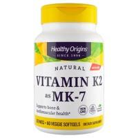 Vitamina K2 Mk7 100mcg (60 caps) - Healthy Origins