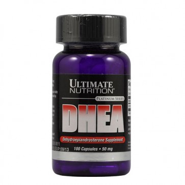 DHEA 50mg (100caps) - Ultimate Nutrition Ultimate Nutrition
