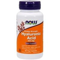 Ácido Hialurônico 100mg (60 cápsulas) - Now Foods