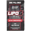 Lipo 6 Black Ultra Concentrado Nutrex (60 cápsulas)
