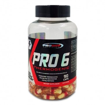 Pro 6 Thermogenic (90 caps) - Pro Size Nutrition Pro Size Nutrition