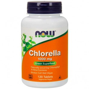 Chlorella (120 tabletes) - Now Foods