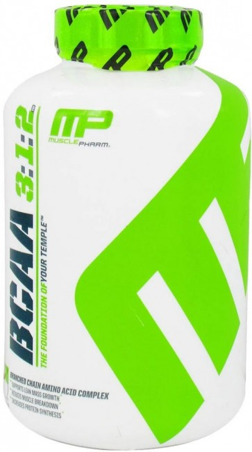 BCAA Core 3:1:2 (240 cápsulas) - Muscle Pharm