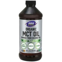 MCT Oil Organic (473ml) - Now Foods