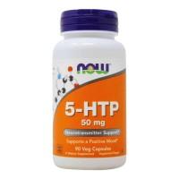 5-HTP 50mg (90 caps) - Now Foods