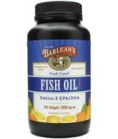 Fish Oil 1000mg (250 softgels) - Barlean's