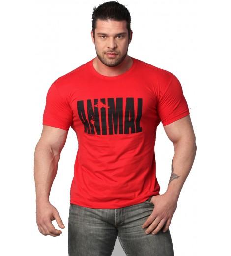 Camiseta ANIMAL Vermelha - Universal Universal