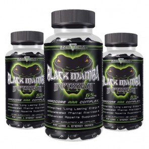 COMBO 3 UNIDADES - Black Mamba - Hyperrush 90 Cápsulas