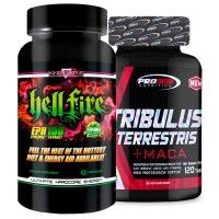 Combo: Tribulus Terrestris - Pro Size + Hell Fire - Innovative