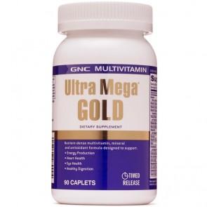 Ultra Mega Gold Multivitamínico (90 caps) - GNC