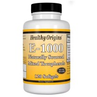 Vitamina E 1000 (120 softgels) - Healthy Origins