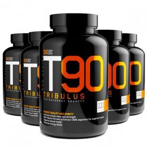 COMBO 5 UNIDADES - T90 Tribulus Terrestris - 100 cápsulas de 750mg