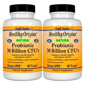 Combo: 2un Probiotic 30 Billion CFU's (60caps) - Healthy Origins