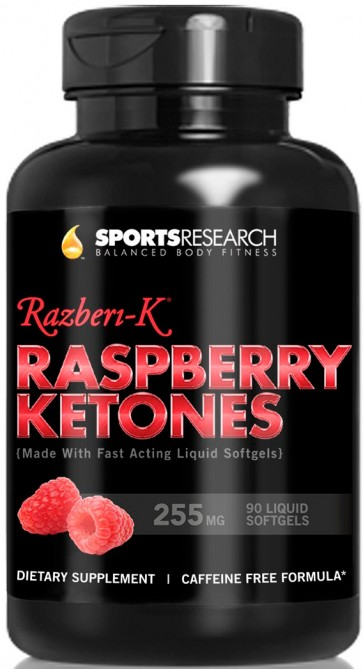 Raspberry Ketones (90 cápsulas) - Sports Research