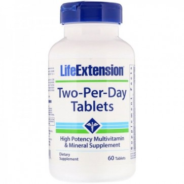 Two-Per-Day (60 tabletes) - Life Extension Life Extension