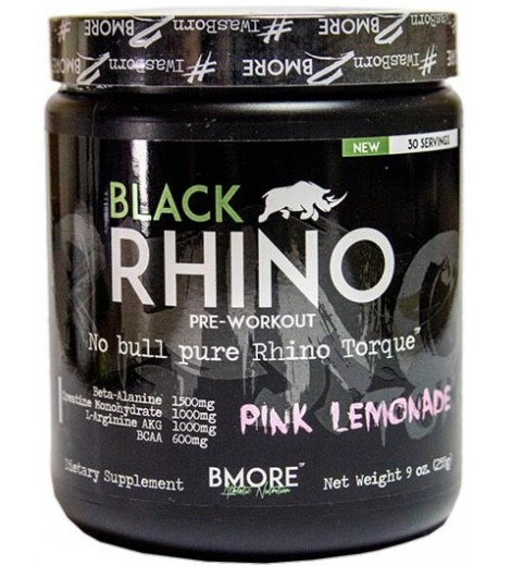 Black Rhino (30 porções) - BMORE Athletic Nutrition