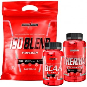 Combo Iso Blend 907g + Therma Pro 120Caps + BCAA 2:1:1 90Caps - Integralmédica