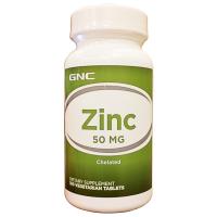 Zinco 50mg (100 tabs) - GNC