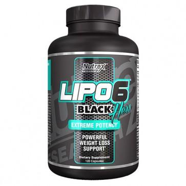 Lipo 6 Black Hers - 120 caps - Nutrex - Novo