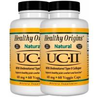 Combo: 2 un UC II 40mg (60 caps) - Healthy Origins