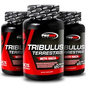 Combo 3 unidades: Tribulus Terrestris (120 tabs) - Pro Size Nutrition