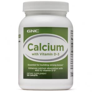 Calcium + Vitamin D-3 (120 caps) - GNC