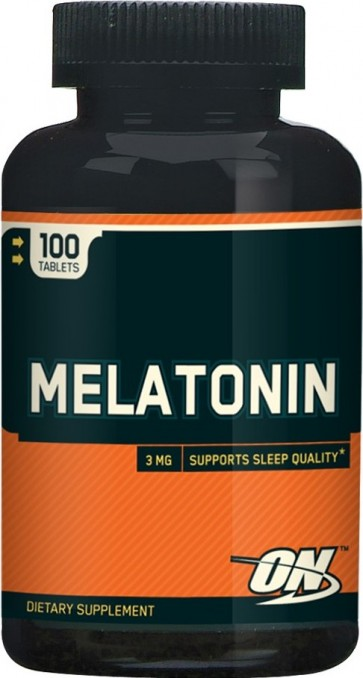 Melatonina 3 mg Optimum Nutrition