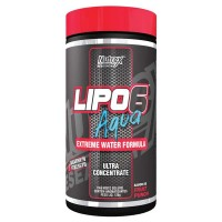 Lipo 6 Aqua - Ultra Concentrado - 120g - Nutrex