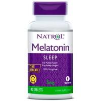 Melatonina 3mg Time Release (100 tabletes) - Natrol