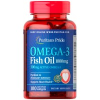 Omega-3 Fish Oil 1000 mg - Puritan's Pride