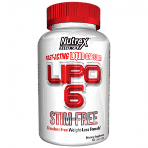 Lipo 6 Stim-Free (120 caps) - Nutrex