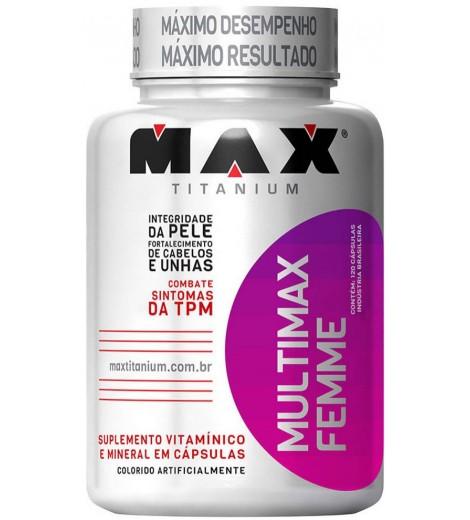 Multimax Femme (120 cápsulas) - Max Titanium