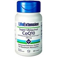 Super Ubiquinol CoQ10 100mg - 60Caps - Life Extension