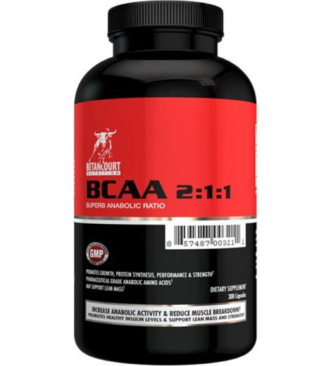 BCAA 2:1:1 (300 cápsulas) - Betancourt Nutrition